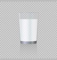 milk glass vector image