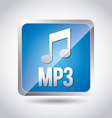 mp3 download vector image
