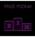 Prize Podium Image vector image