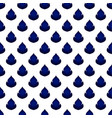 thai pattern blue and white vector image vector image