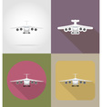 transport flat icons 70 vector image vector image