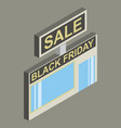 black friday sale tag offer bannersale clearance vector image vector image