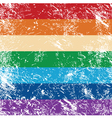 Gay rights flag vector image vector image
