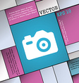 Photo Camera icon sign Modern flat style for your vector image