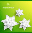 realistic natural template vector image vector image
