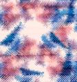 Seamless pattern hippie tie dye Rorschach summer vector image