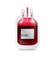 donate blood isolated vector image vector image