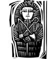 Egyptian Sarcophagus vector image vector image