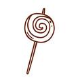 Hand Drawn Lollipop vector image vector image