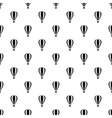 Hot air balloon pattern simple style vector image