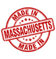 made in massachusetts vector image