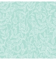 mint green floral texture seamless pattern vector image vector image