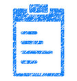 pad text grunge icon vector image vector image