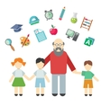 Teacher and children miscellaneous student in
