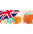 uk united kingdom england britain concept of vector image