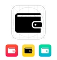Wallet icon vector image vector image