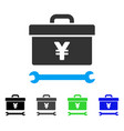 yen toolbox flat icon
