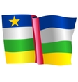 flag of Central African Republic vector image