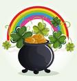 happy saint patricks day celebration vector image vector image
