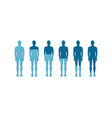 human quantitative rate icon vector image vector image
