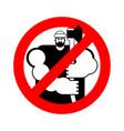 Lumberjack stop sign woodcutter ban road red