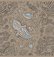 paisley beautiful seamless background vector image vector image