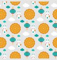 pattern dedicated to the chinesefestival vector image vector image