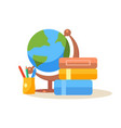pupil workplace education design vector image vector image