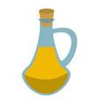 spa oil massage bottle vector image vector image
