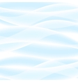 White Wavy Background vector image vector image