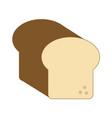 bread wheat food vector image vector image