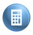 calculator icon simple style vector image