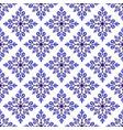 floral damask pattern vector image