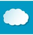 Fluffy cloud icon
