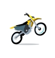 Motocross Bike Cartoon vector image vector image