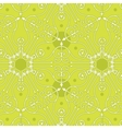 Seamless geometric green pattern background vector image vector image