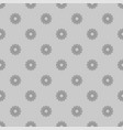 small gray flowers seamless background vector image vector image