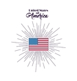 united stastes of america design vector image vector image