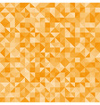 Abstract orange triangles vector image
