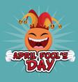 april fools day enjoyable celebration vector image