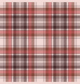 brown traditional plaid fabric texture seamless vector image vector image
