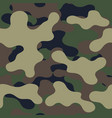 camouflage pattern military print seamless vector image vector image