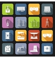 Energy Icons Flat Set vector image vector image