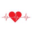 heart cardio vector image vector image