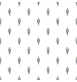 Medieval knight pattern cartoon style vector image vector image