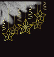 merry christmas and happy hew year scandinavian vector image vector image