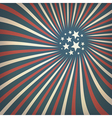 patriotic rays background vector image