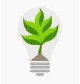 Green energy Ecological concept vector image