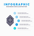 arrange design layers stack layer infographics vector image