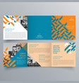 brochure design 818 vector image vector image